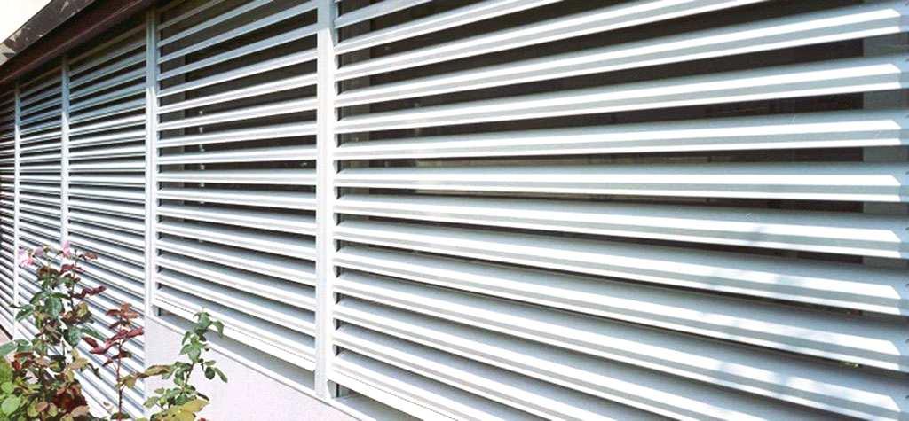 Persianas orientables de aluminio en Espa&ntildea